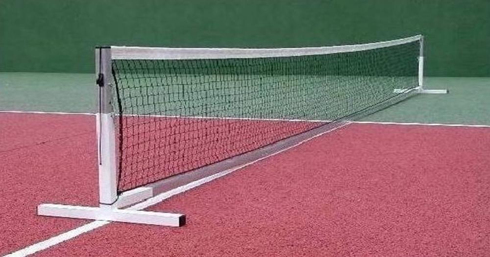 Filet mini tennis rv sports equipements sportifs for Longueur terrain de tennis