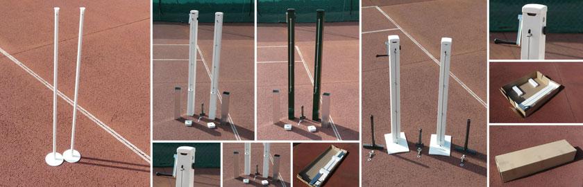 poteaux tennis